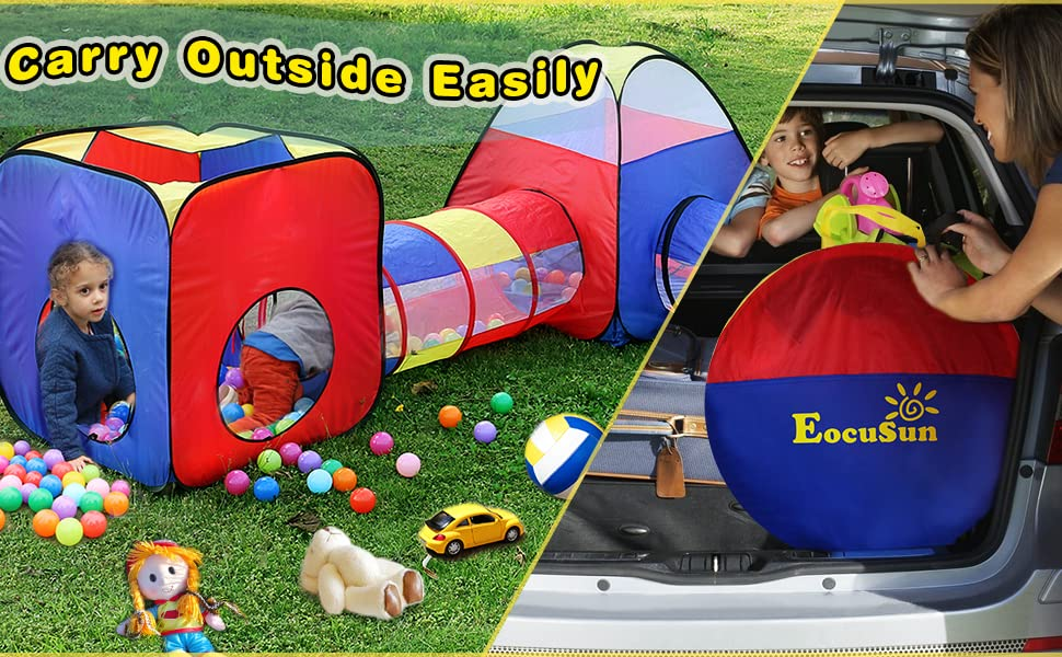 play tent tunnel