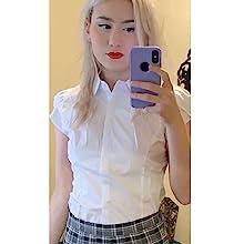 shirt with skirt