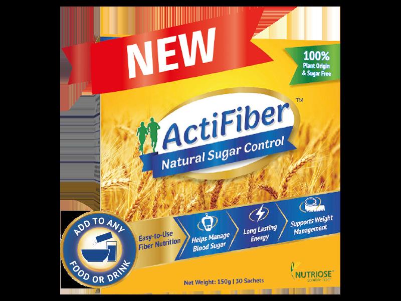 ActiFiber Natural Sugar Control