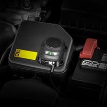 loraffe under hood animal repeller ultrasonic rodent repellent mice deterrent car vehicle protection