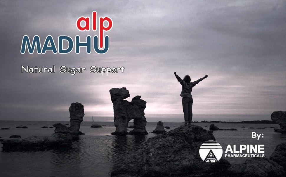 Alpine Pharmaceuticals ALPMADHU Glucose Medicine Ayurvedic Freedom No worries success Sugar Control