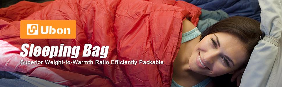 Ubon 15F Backpacking Sleeping Bags