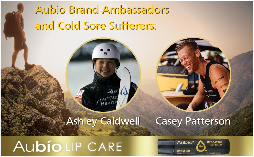 Ashley Caldwell and Casey Patterson Professional Athletes and Proud Aubio Supports, Paid Endorsement