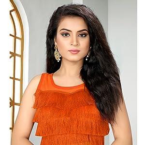 Blouse Readymade for women latest design jacquard for stylish plain -party wear Lehenga choli blouse