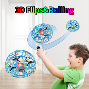 drone 3D flips