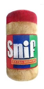 huxley amp; kent lulubelles plush dog toy peanut butter snif