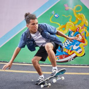 skateboard anfänger skateboard cruiser skateboard holz skateboard kinder ab 7 jahre skateboard