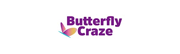 butterfly craze, logo