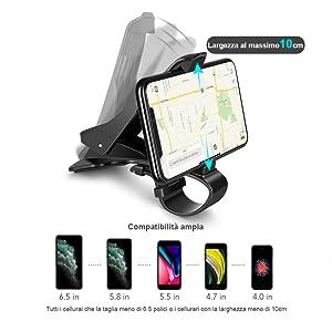 supporto cellulare auto