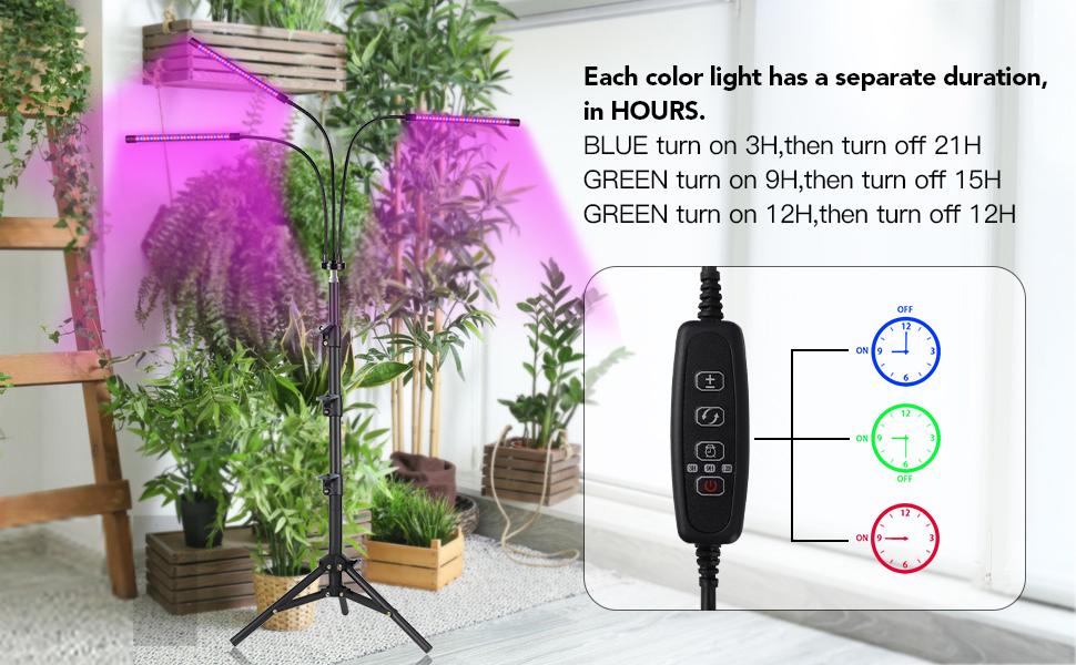 LED Floor Plant Light for Indoor plants