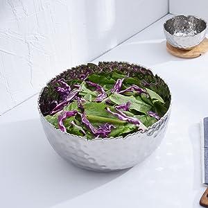 Salad; Tarnish Free; Silver