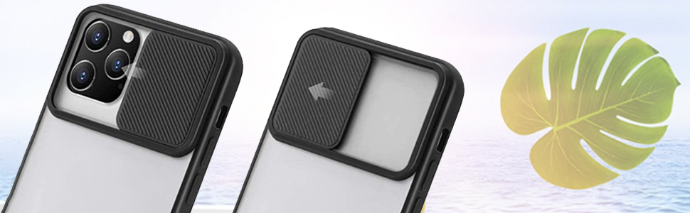 case compatible with iPhone 12 Pro Case with Camera Cover