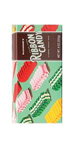 Hand Spun, Ribbon, Sugar, Taffy, Chocolate Bar, Holiday, Treat, Sweets, Canes, Sour, Licorice, Drops