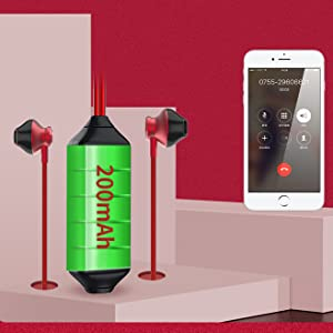 Bluetooth Call Recorder Device, Cellphone Phone Recording Headphone Voice Recorder Earphone
