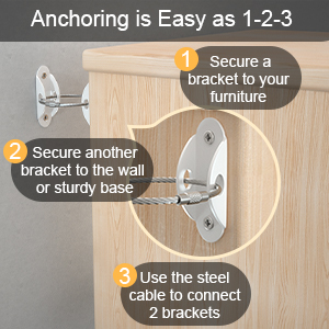 anti tip furniture anchors