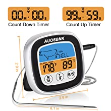 meat thermometer digital oven instant grill cook smart probe electric food bbq meatstick electronic