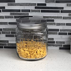 glass canister set, kitchen canister sets, tea coffee sugar canisters, kitchen containers