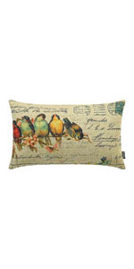 Trendin Easter Birds Pillow Cover