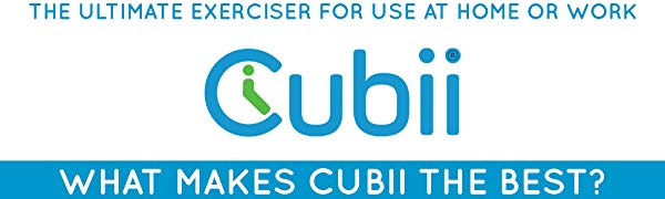 Cubii - the ultimate exerciser for work or home