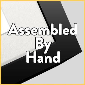 assembled, handmade, assembled by hand