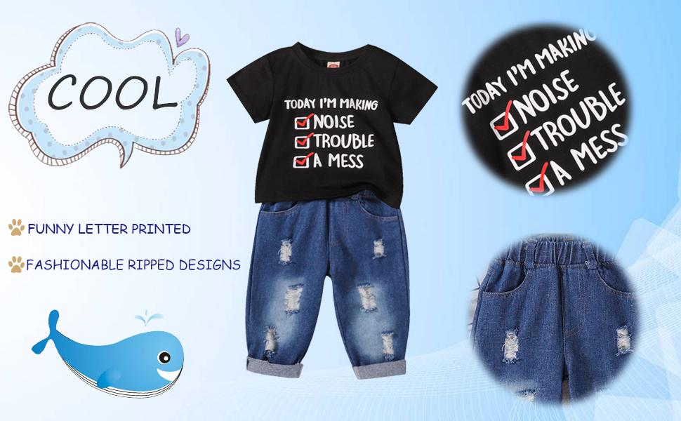 Toddler Girl Jeans Set