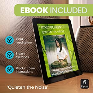 Ebook mock up on tablet 'Quieten the Noise'