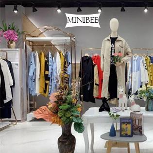 Minibee Women's Casual Cotton Linen Blouse Plus Size High Low Shirt Long Sleeve Tops
