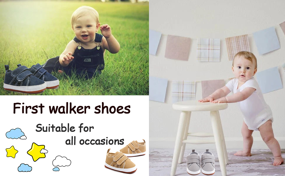Baby girl walker shoes suitable for all occasions
