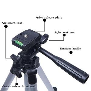 3110 mini tripod stand mobile phone camera selfie video making live stream online class teaching