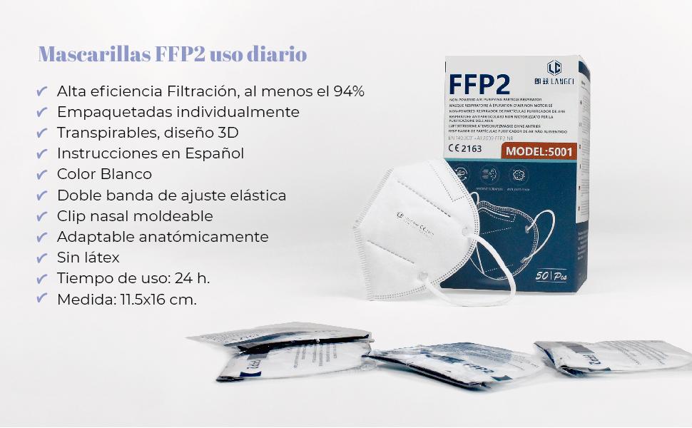 mascarillas ffp2. mascarillas individuales