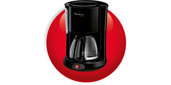 Moulinex FG260811 Cafetera de goteo, 1000 W, 1.25 L, color negro ...