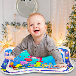 Newborn water play mat