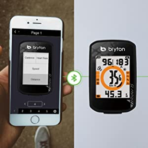 Easy Setup with Bryton Active APP