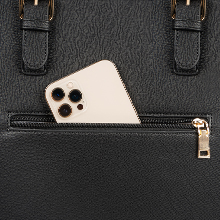 Anti-theft pocket on back