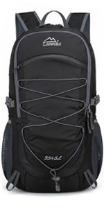40L Travel Backpack Hiking Camping Daypack with wet pocket