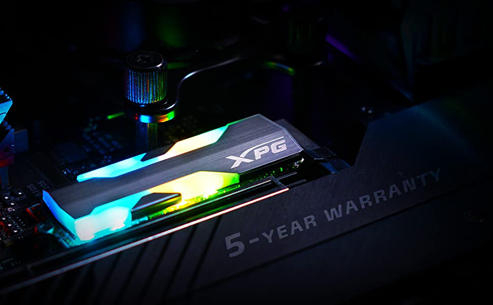 Spextrix S20G RGB PCIE SSD 5 Year