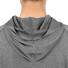 para Correr DISHANG Camiseta Deportiva para Hombre de Manga Larga con Capucha de Secado r/ápido