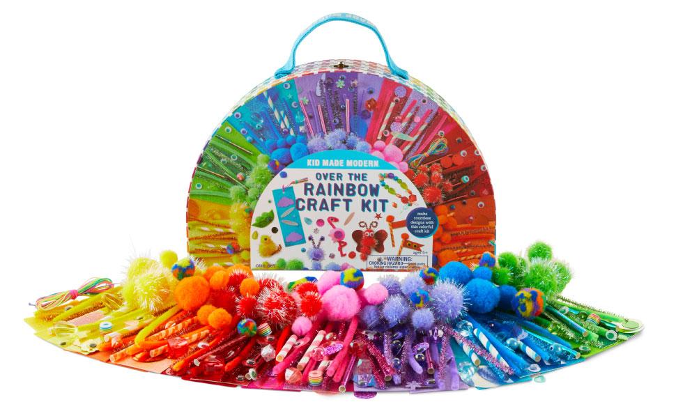 rainbow craft kit