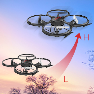 drone speed low high