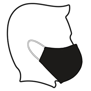 Washable Cloth Face Mask Wearing Instructions