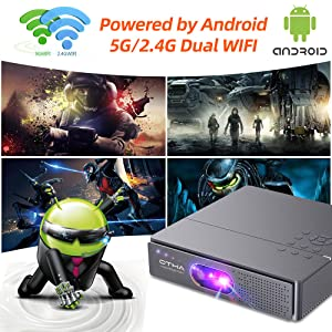 Android Smart Mini Projector