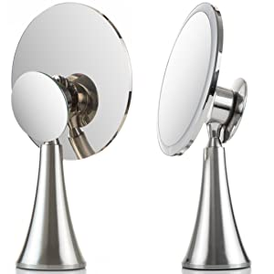 Evolvico Mirror - modern display - ultramodern and durable design - brushed stainless steel finish