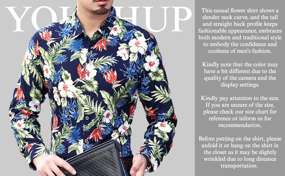 UK Mens Hawaiian Shirt Floral Printed Paisley Collared Fancy Shirts Short Sleeve