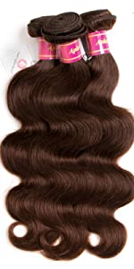 light brown body wave