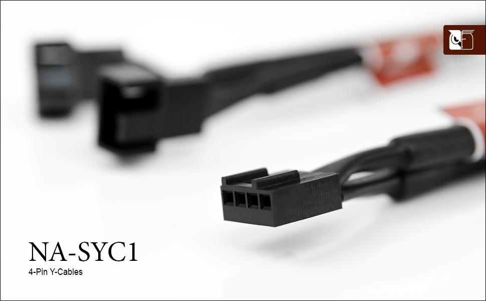 Noctua NA-SYC1, Cables con Forma de Y y 4 Pines para Ventiladores ...