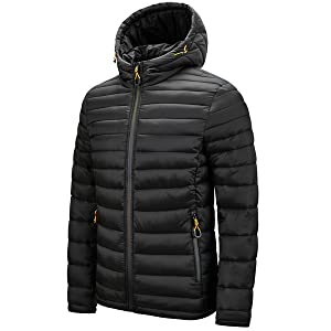 Women's Lightweight Hooded Puffer Jacket Winter Quilted Padding Coat