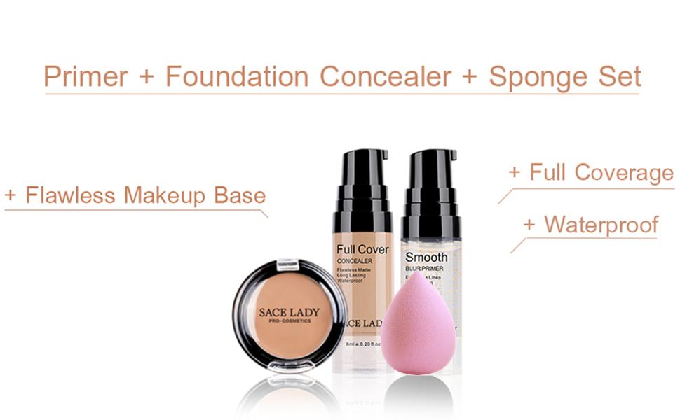 concealer makeup set