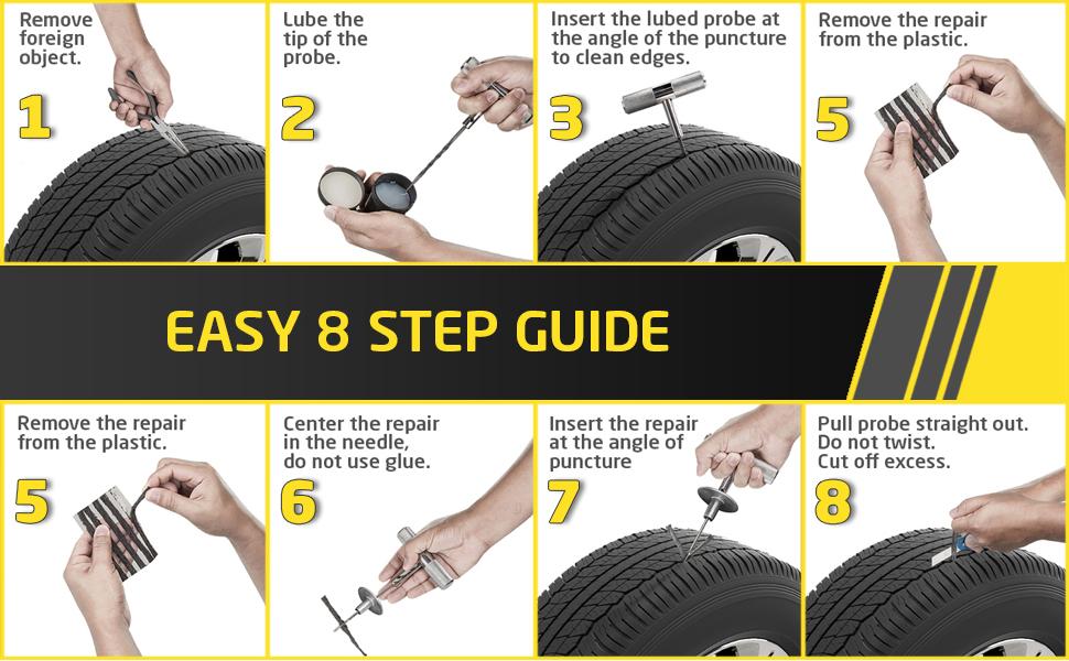 tire repair kit car auto truck