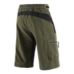 Lixada Pantalones Cortos de Ciclismo Hombres Tipo Casual para ...