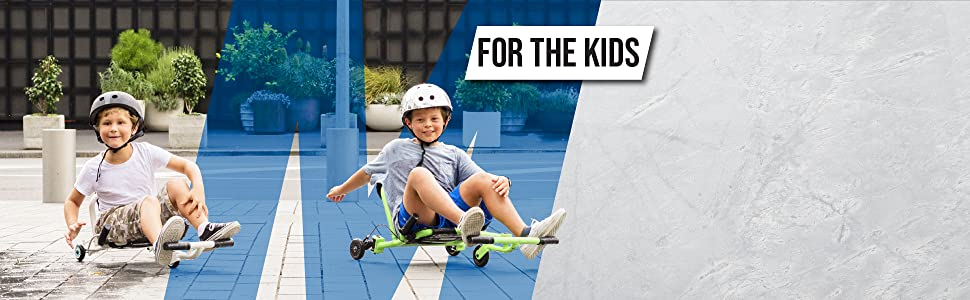 Kids Playing on their EzyRollers